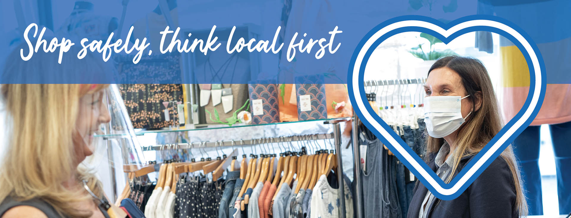 Shop safely, think local first