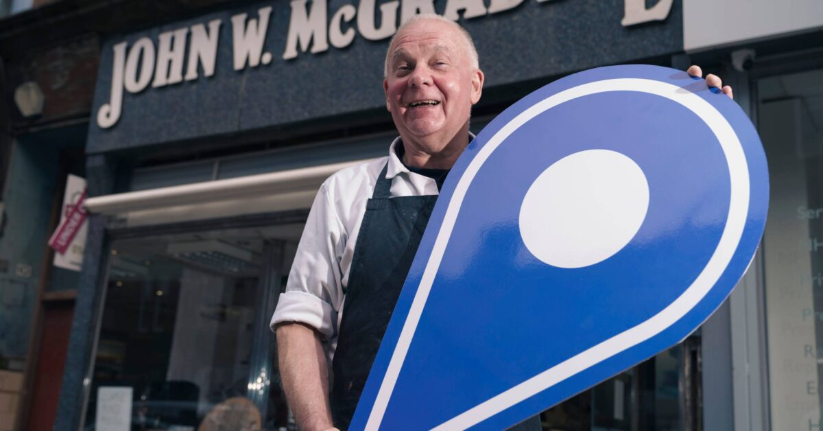 Free first use: Neil Cunningham, of John W McGraddie Butchers, on Minard Road, Shawlands, Glasgow. The business is one of several in Shawlands promoting the Scotland Loves Local campaign, encouraging people to choose local and back  businesses in their community as part of the national recovery from the Covid-19 pandemic. The campaign is spearheaded by Scotland's Towns Partnership.  Media enquiries to Chris Story on 07375 065 728 / chris@messagematters.co.uk